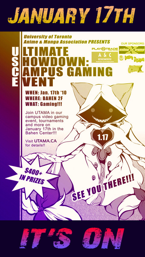 Ultimate Showdown Event Poster [Art by: Yvie Chen]